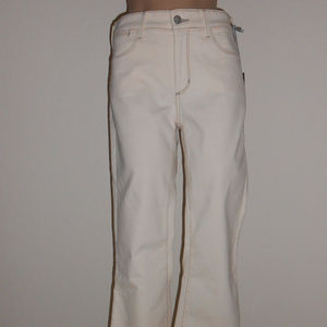 NYDJ Jeans 6 Natural Farrah Flare Stretch NEW